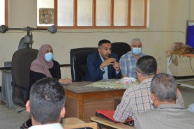 The Training and workshops Center held an extensive meeting of the General Authority of the Center